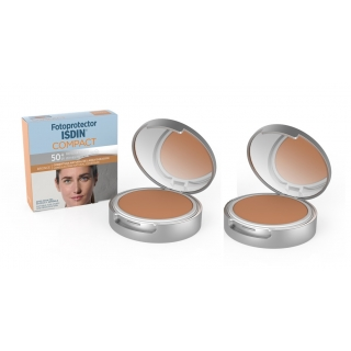 Duo ISDIN Compacto Bronce X2